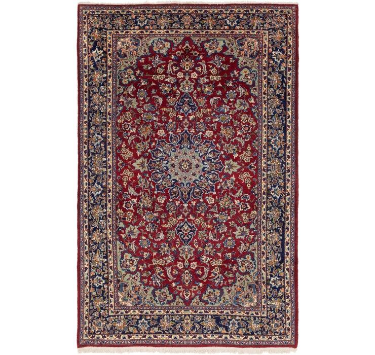 6' 10 x 10' 6 Isfahan Persian Rug