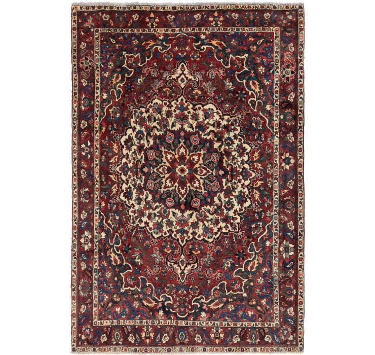 220cm x 318cm Bakhtiar Persian Rug