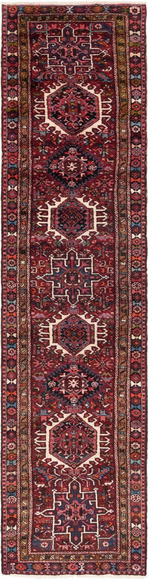 3' x 12' 5 Gharajeh Persian Runner Rug main image