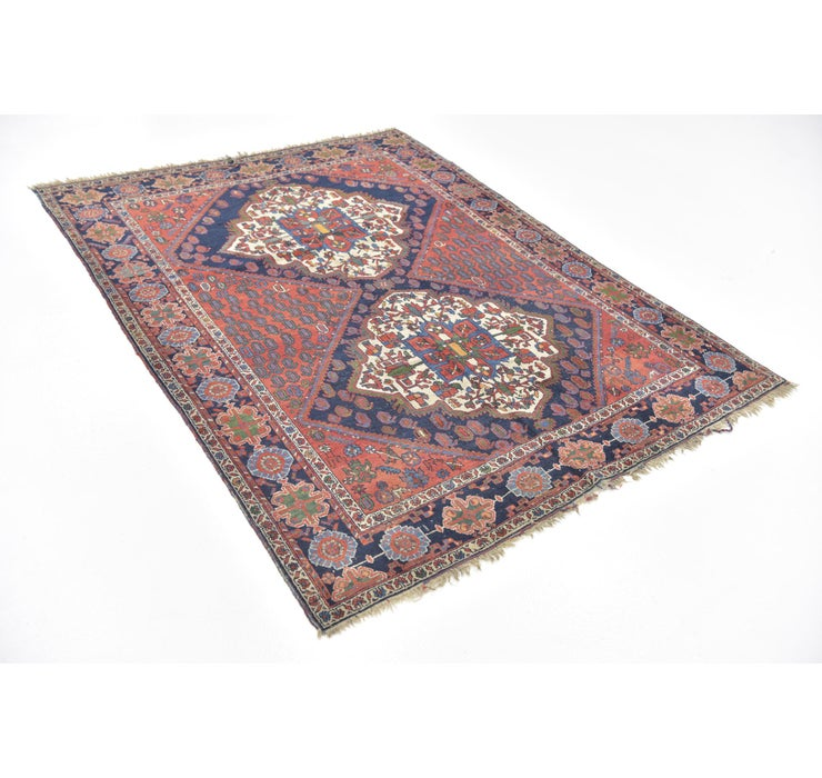 152cm x 198cm Yalameh Persian Rug