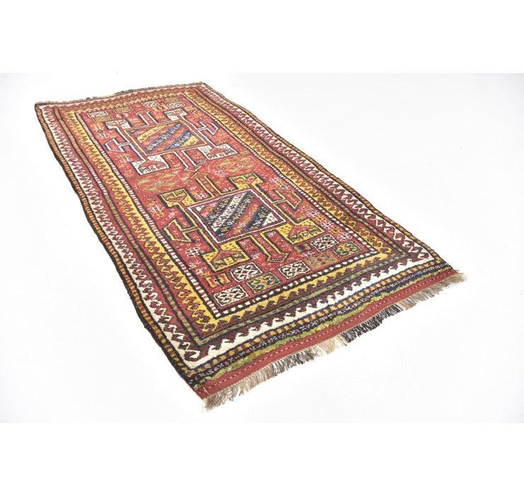122cm x 230cm Shiraz-Lori Persian Rug