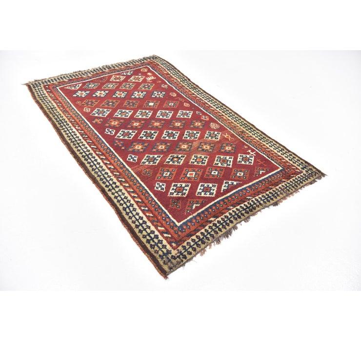 122cm x 193cm Ghashghaei Persian Rug
