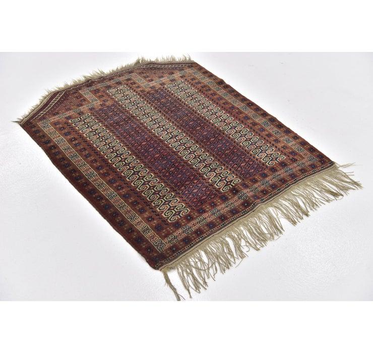 100cm x 122cm Bokhara Oriental Rug
