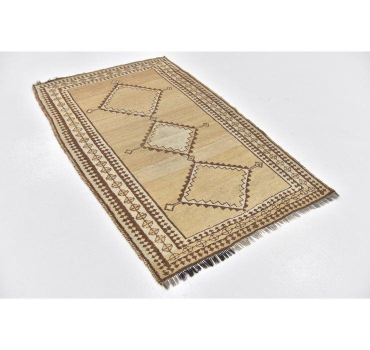 105cm x 160cm Shiraz-Gabbeh Persian Rug