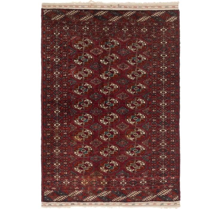 110cm x 157cm Bokhara Oriental Rug