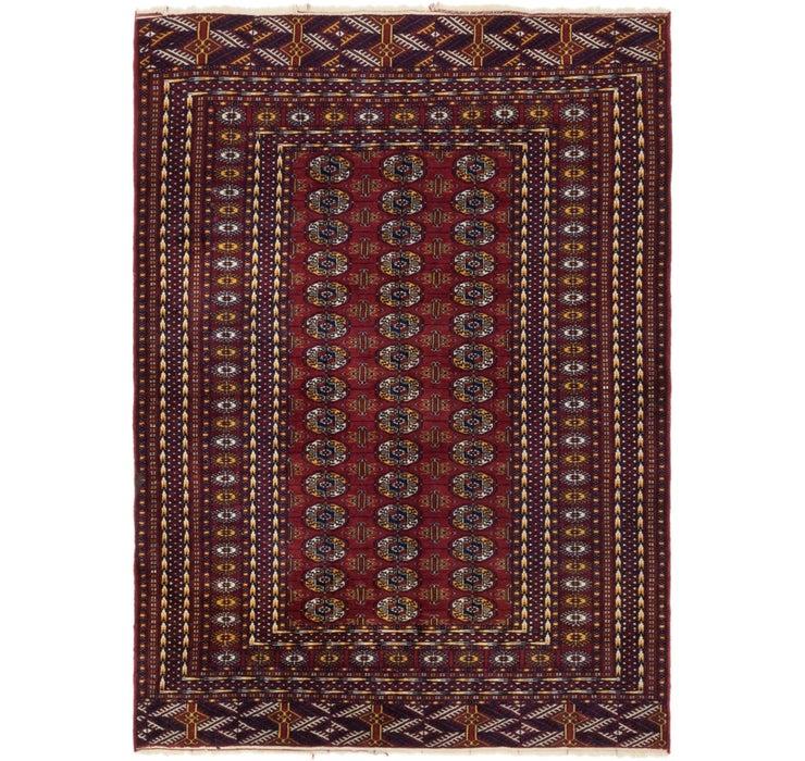 4' 4 x 5' 10 Bokhara Oriental Rug