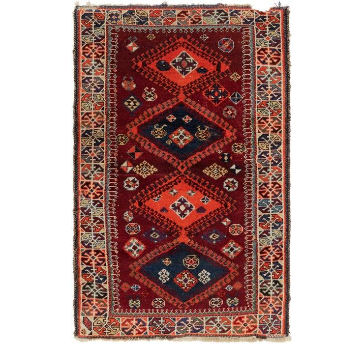 112cm x 183cm Ghashghaei Persian Rug