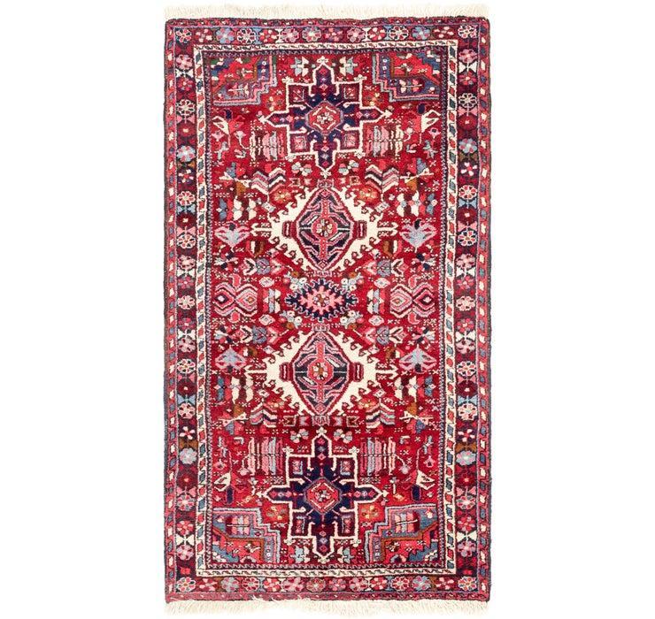 105cm x 195cm Gharajeh Persian Rug