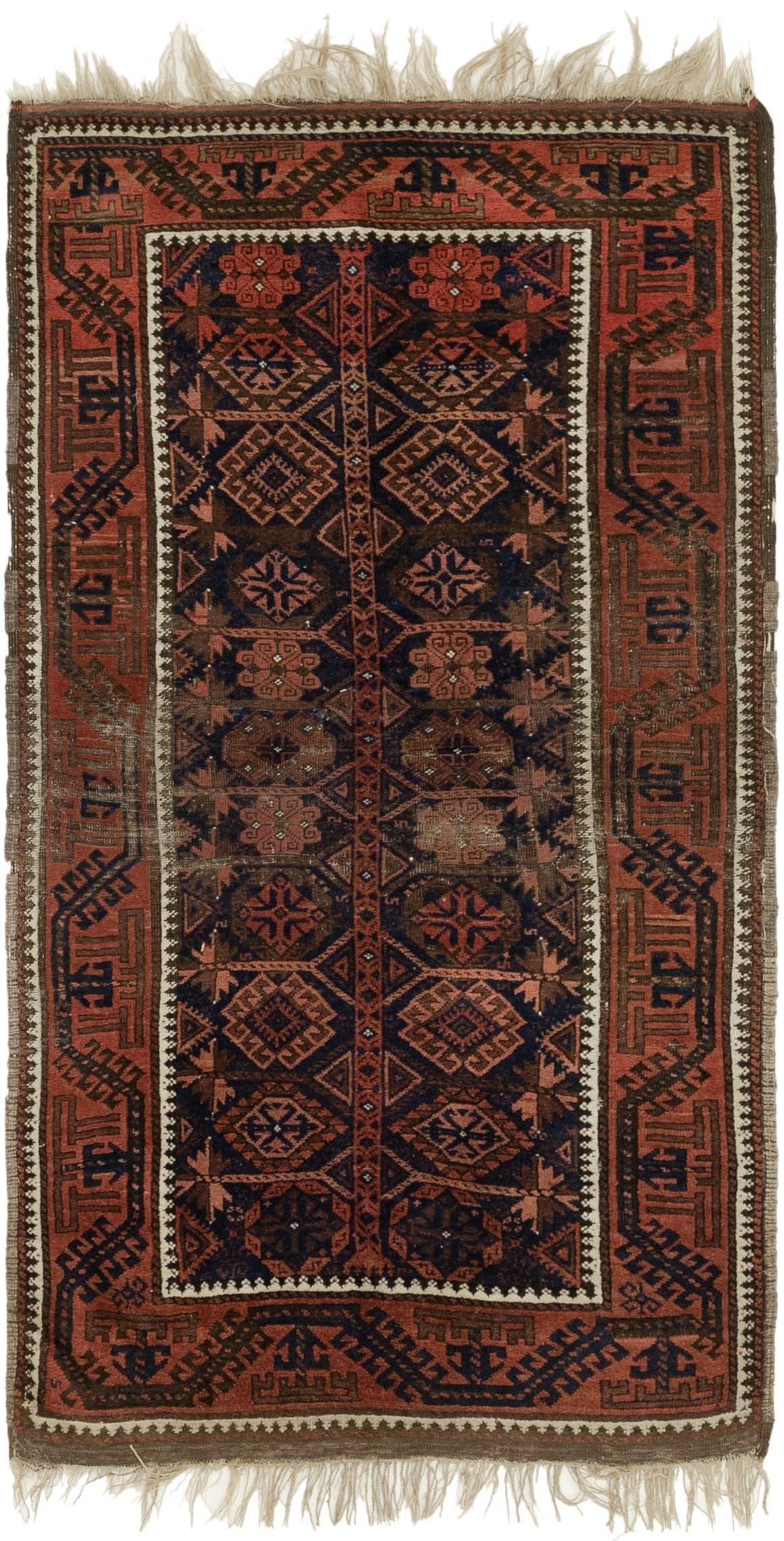 3' 3 x 6' Shiraz Persian Rug main image