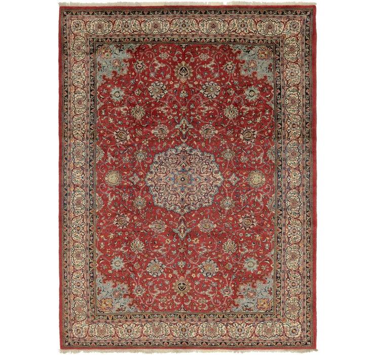 8' 8 x 12' Sarough Persian Rug