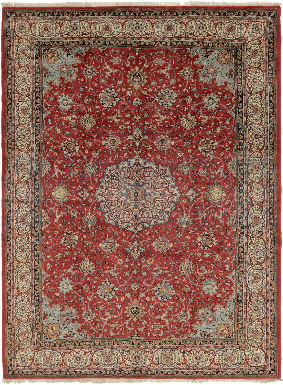 8' 8 x 12' Sarough Persian Rug main image