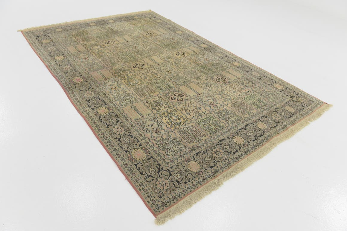 6' x 9' Kashmir Oriental Rug main image
