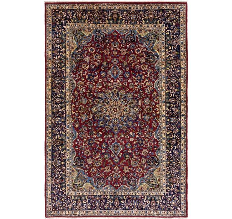 297cm x 450cm Isfahan Persian Rug