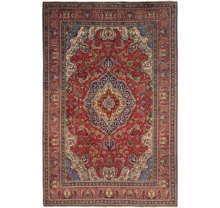 7' 6 x 11' Tabriz Persian Rug
