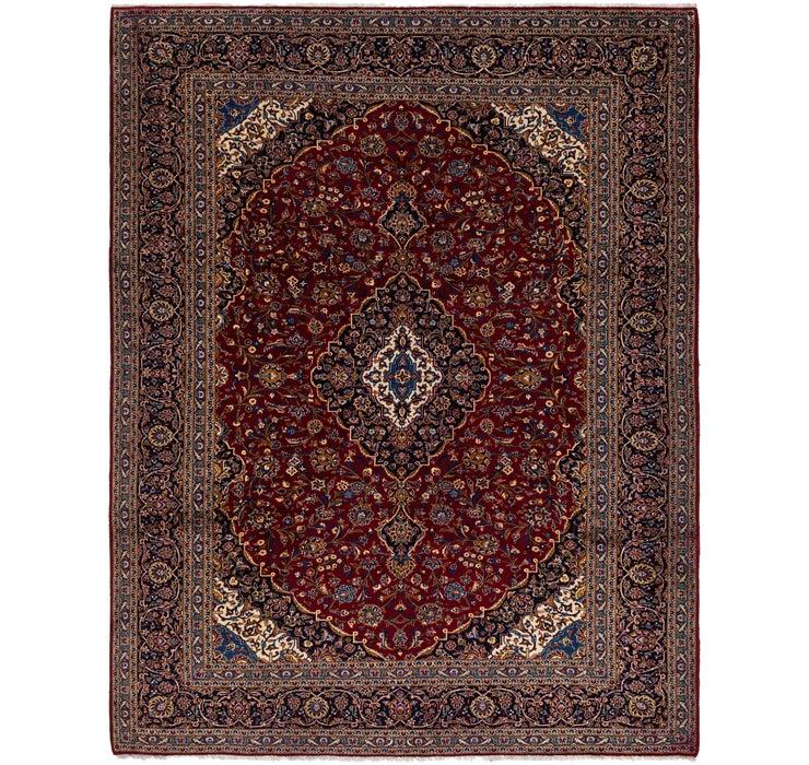 10' 7 x 13' 6 Kashan Persian Rug