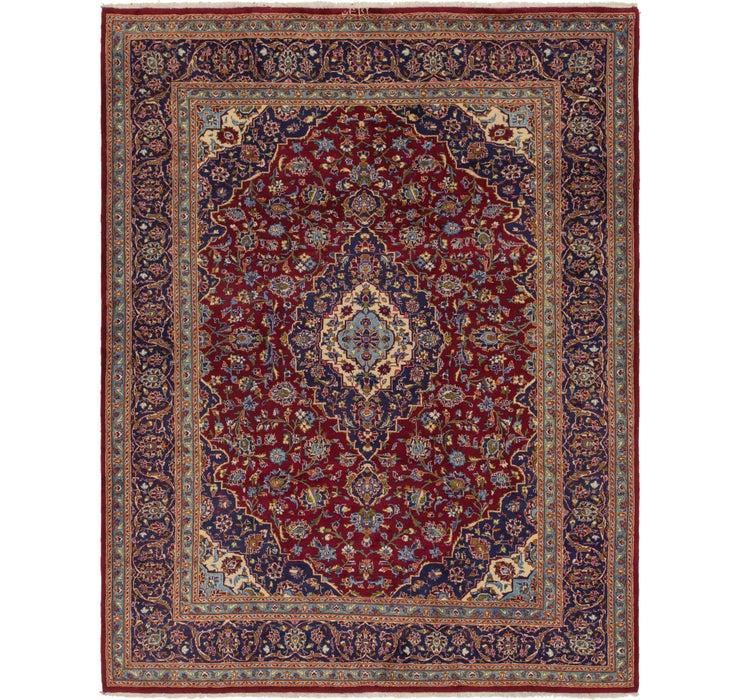 257cm x 335cm Kashan Persian Rug