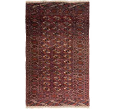 Image of  4' 10 x 7' Bukhara Oriental Rug