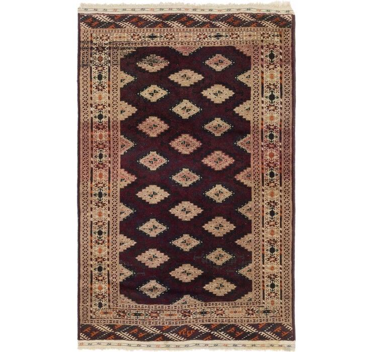 117cm x 188cm Bokhara Oriental Rug