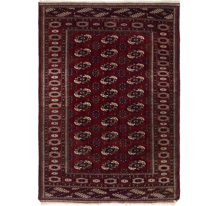 4' 7 x 6' 4 Bokhara Oriental Rug