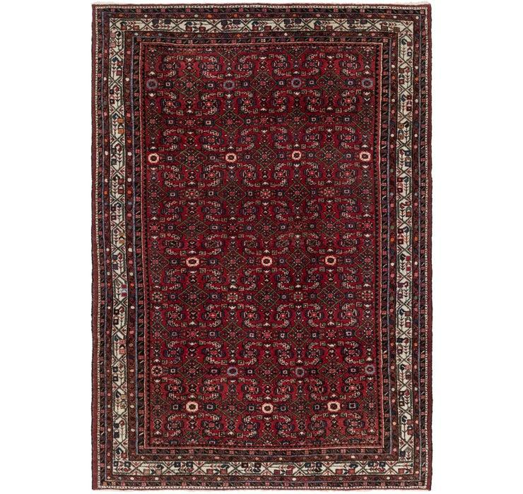 213cm x 310cm Hamedan Persian Rug