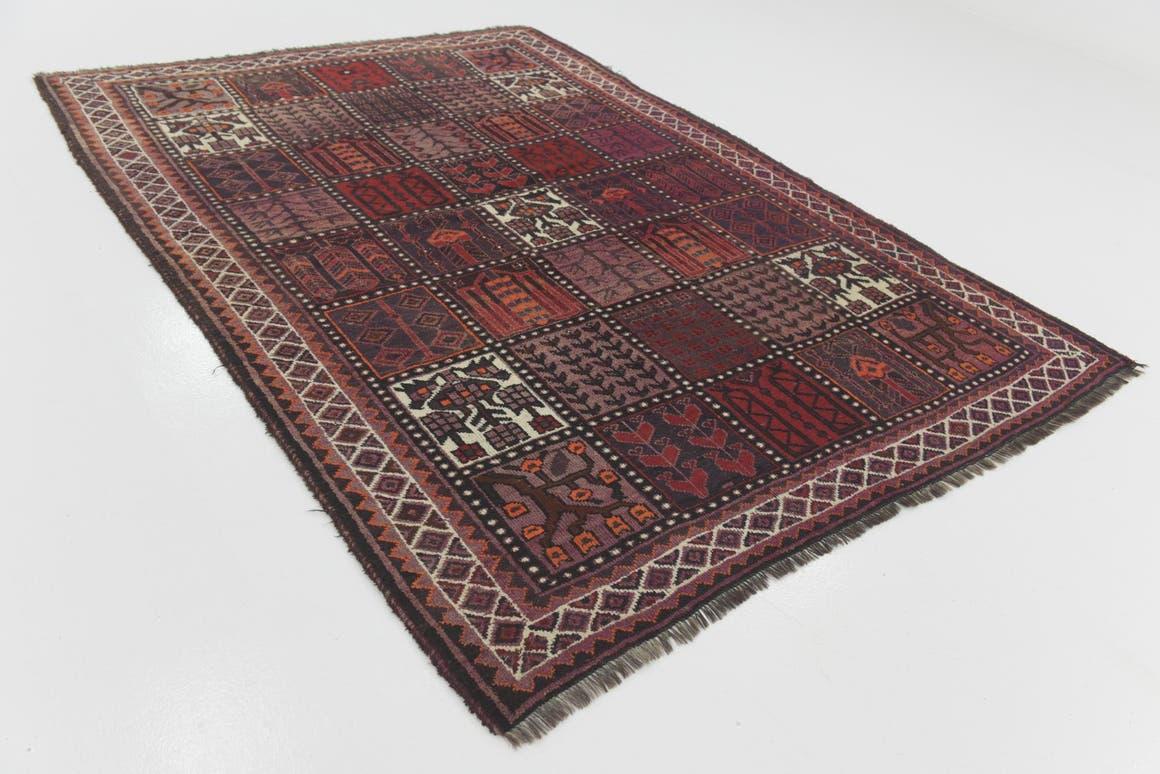 6' 5 x 9' Shiraz Persian Rug main image