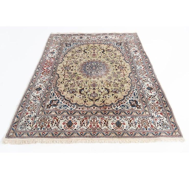 6' 6 x 8' Nain Persian Rug