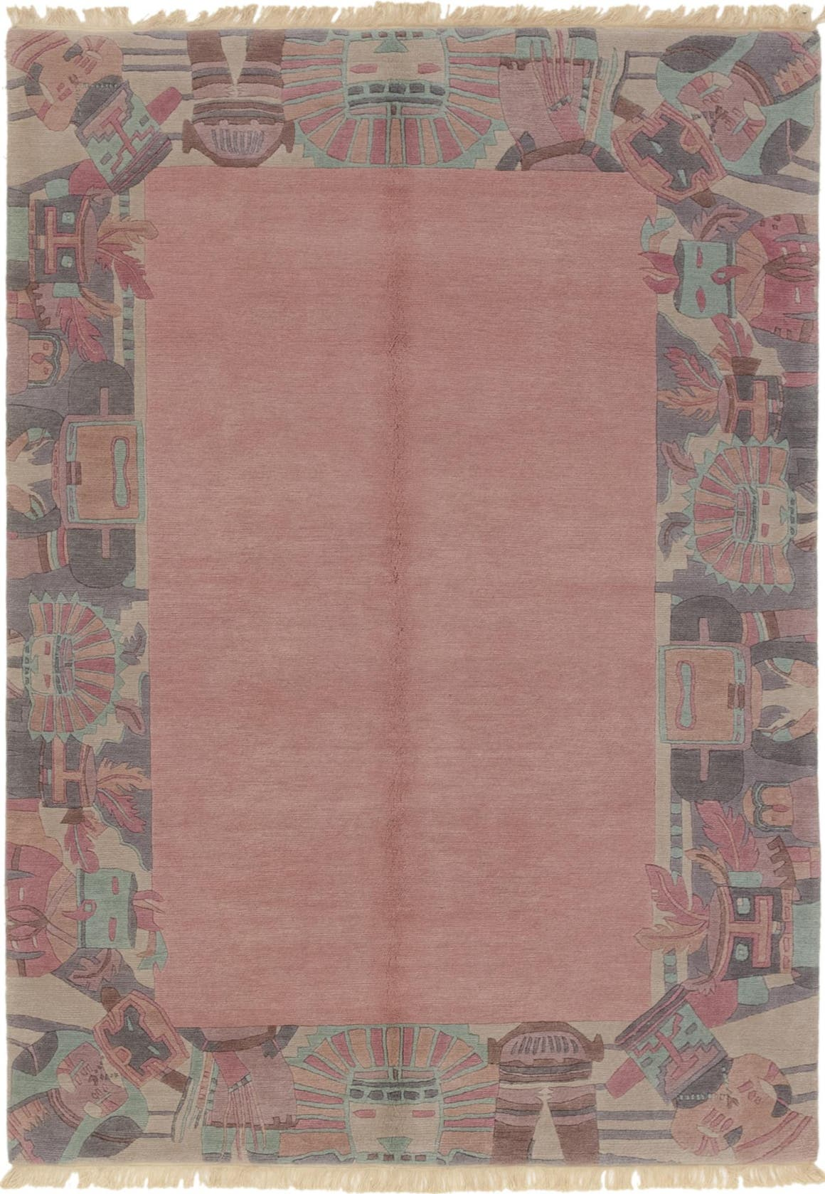 5' 7 x 7' 10 Nepal Rug main image