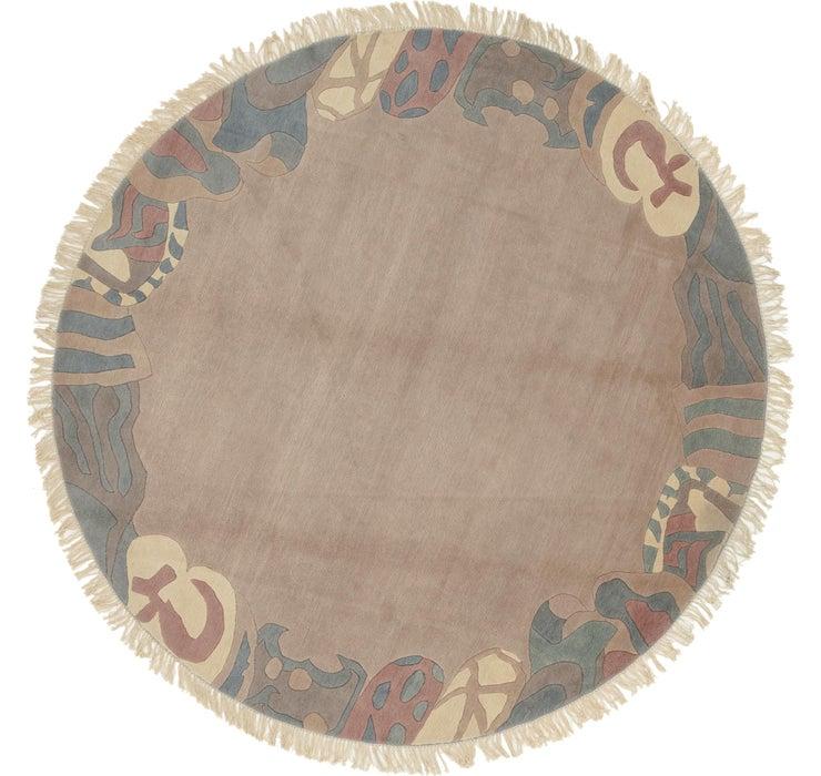 292cm x 300cm Nepal Round Rug