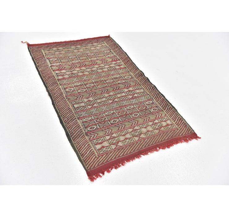 2' 9 x 4' 6 Moroccan Rug