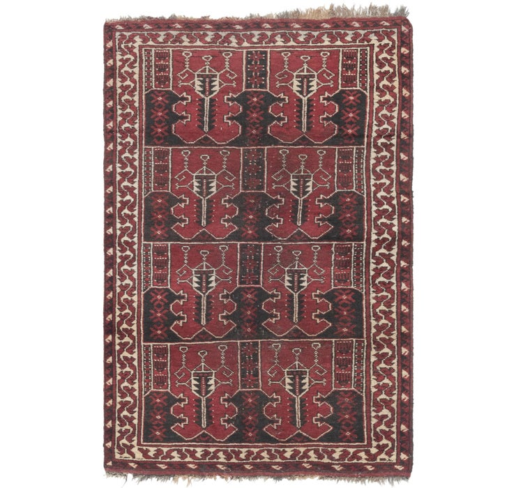 4' 3 x 6' 6 Shiraz Persian Rug