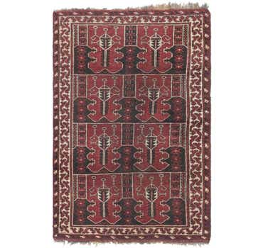 Image of 4' 3 x 6' 6 Shiraz Persian Rug