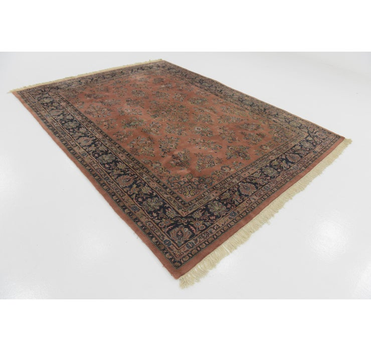 7' 5 x 9' 8 Sarough Persian Rug
