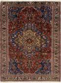 7' 7 x 10' Bakhtiar Persian Rug thumbnail