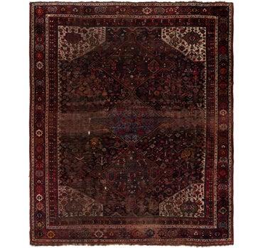 10' 4 x 12' 7 Shiraz Persian Rug main image