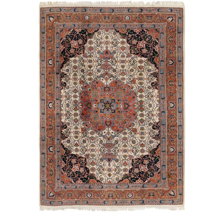 8' x 11' 7 Sarough Rug
