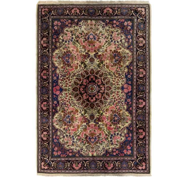 6' 9 x 10' Shahrbaft Persian Rug