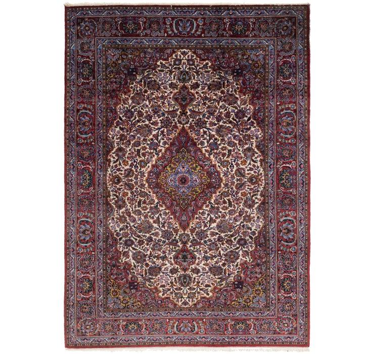 200cm x 282cm Kashan Persian Rug
