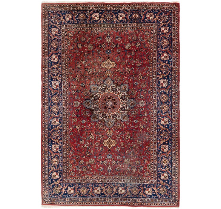 7' 7 x 11' 5 Isfahan Persian Rug