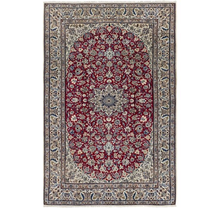 203cm x 310cm Nain Persian Rug