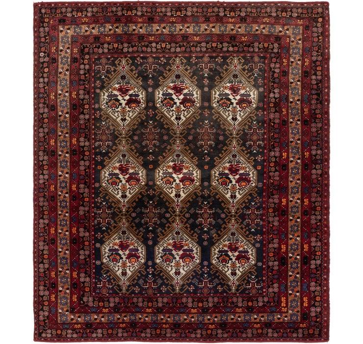 Image of 7' 8 x 8' 10 Meshkabad Persian Squar...
