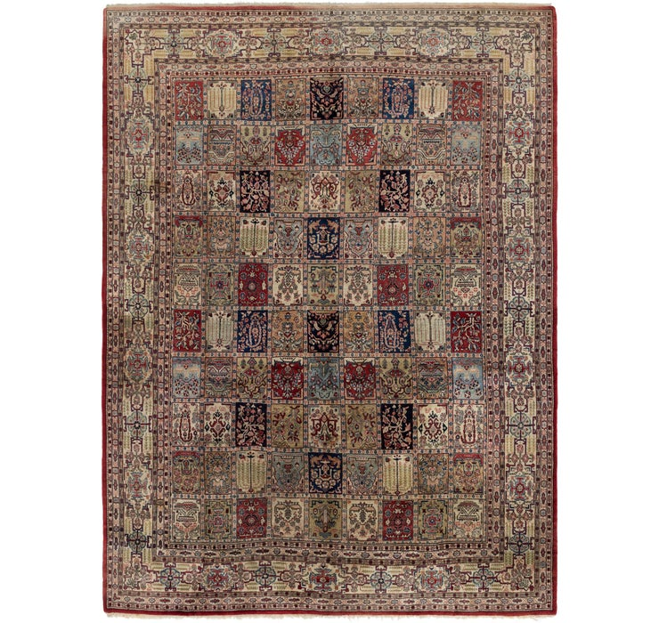 325cm x 447cm Sarough Persian Rug