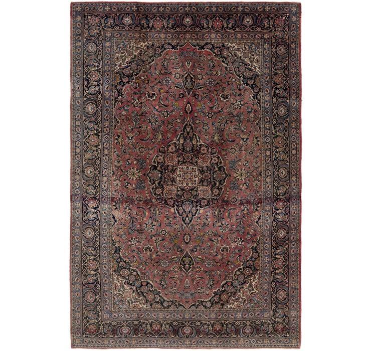 257cm x 378cm Kashan Persian Rug