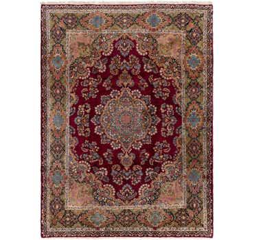 Image of 8' 10 x 11' 10 Kerman Persian Rug