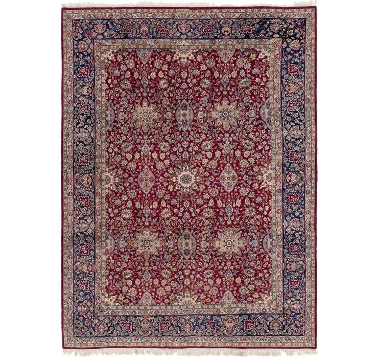 9' x 12' Kerman Persian Rug