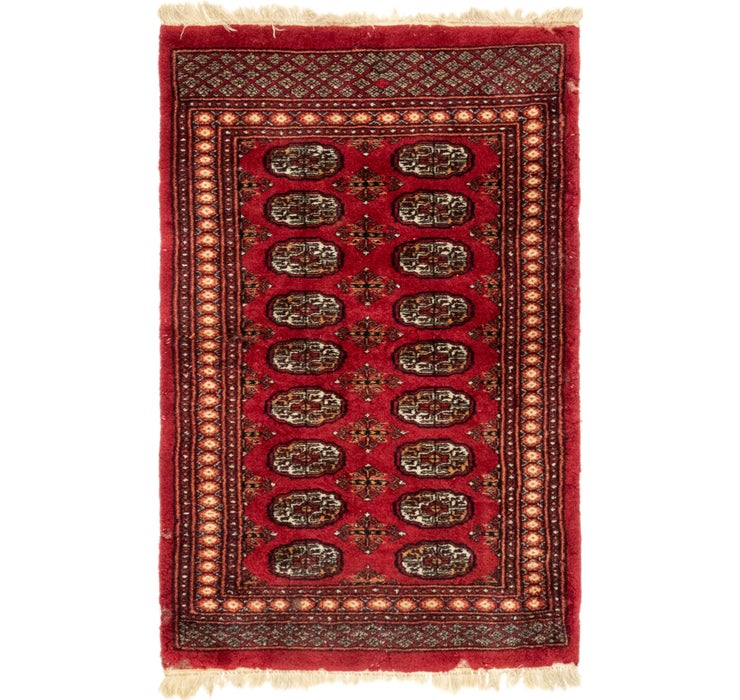 3' 2 x 4' 10 Bokhara Oriental Rug