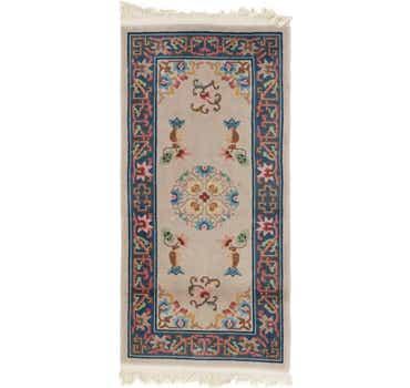 Image of 2' 7 x 5' 5 Antique Finish Rug
