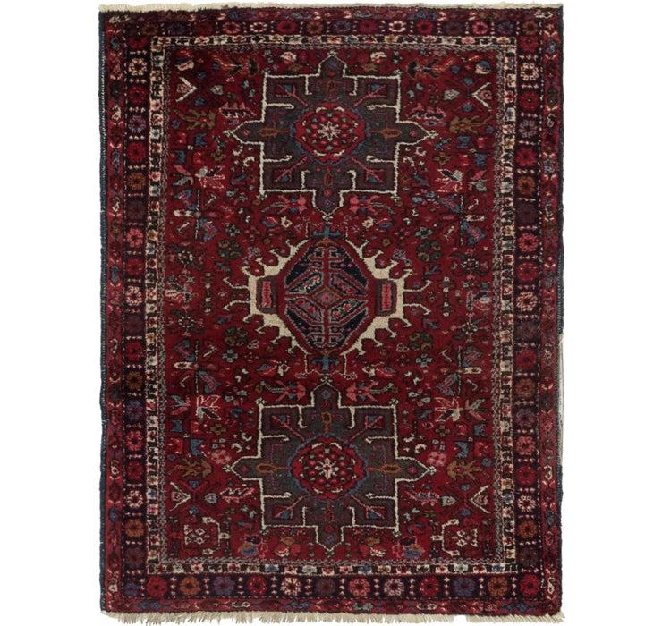 3' 7 x 4' 8 Gharajeh Persian Rug