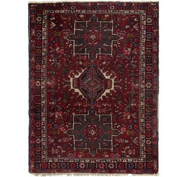 3' 7 x 4' 8 Gharajeh Persian Rug main image