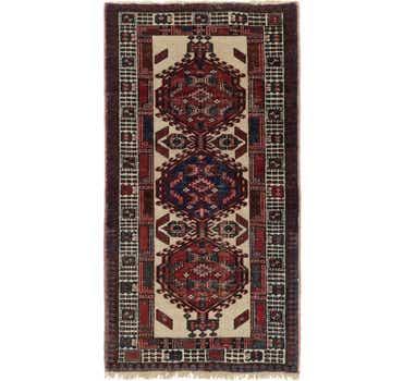 Image of 3' x 5' 4 Meshkin Persian Rug