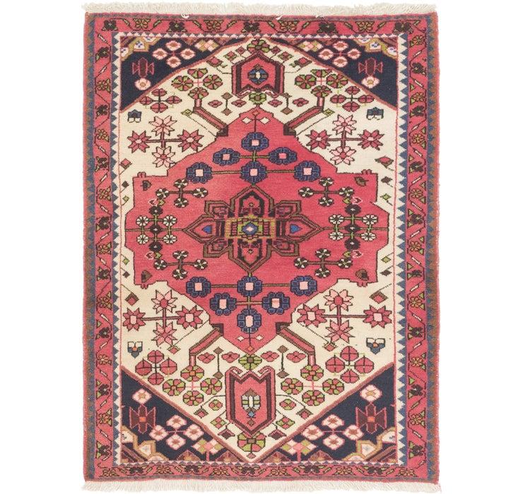105cm x 145cm Hamedan Persian Rug